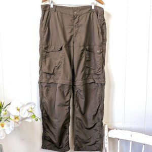 MEC Convertible Cargo Pants Brown Size 38